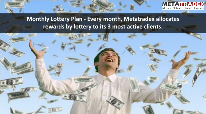 Monthly Lottery Plan - Every month,