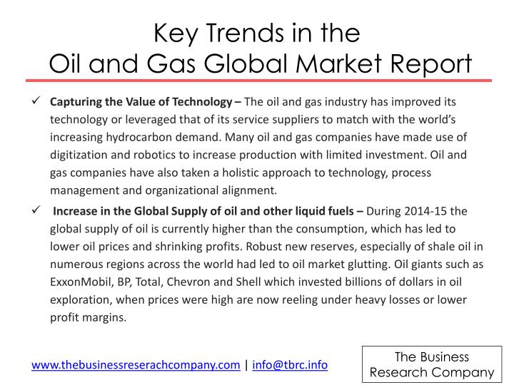 Key Trends in the