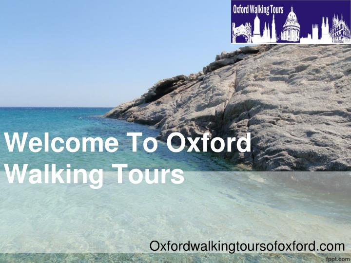 welcome to oxford walking tours n.
