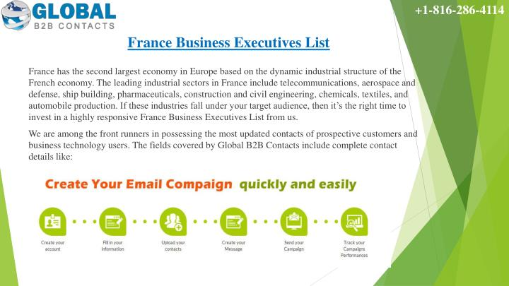 France business executives list