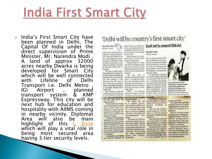 India First Smart City