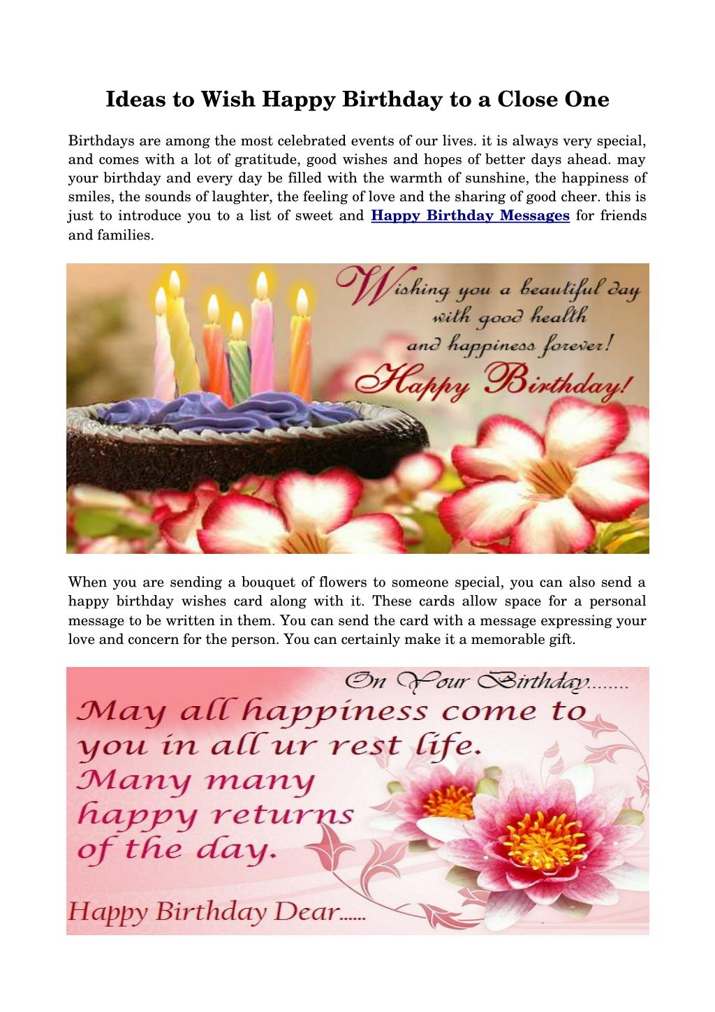 Ppt ideas to wish happy birthday to a close one powerpoint ppt ideas to wish happy birthday to a close one powerpoint presentation id7307205 izmirmasajfo