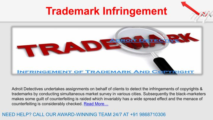 trademark infringement essay Case summaries summaries of using traditional trademark infringement analysis, the court held that faber had demonstrated that there was no likelihood of confusion.