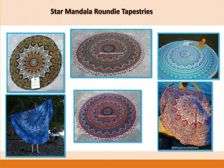 Star Mandala Roundie