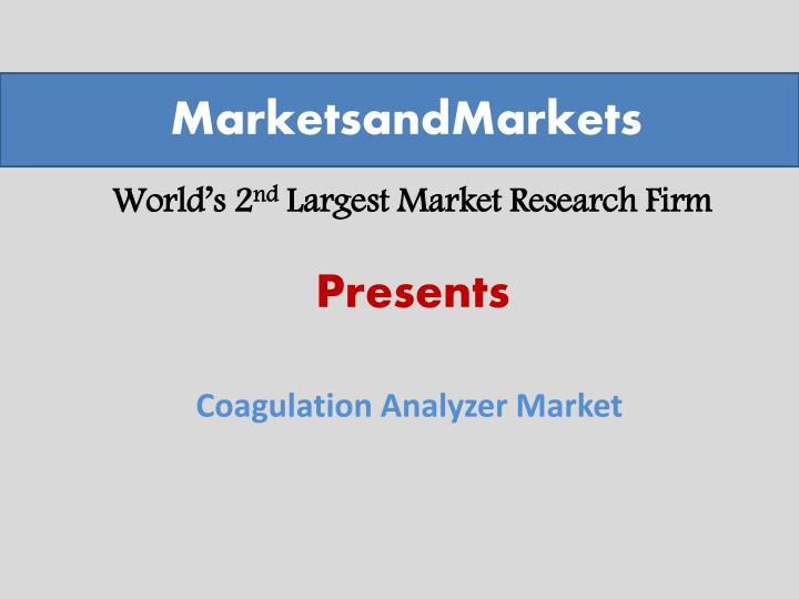 world s 2 nd largest market research firm n.