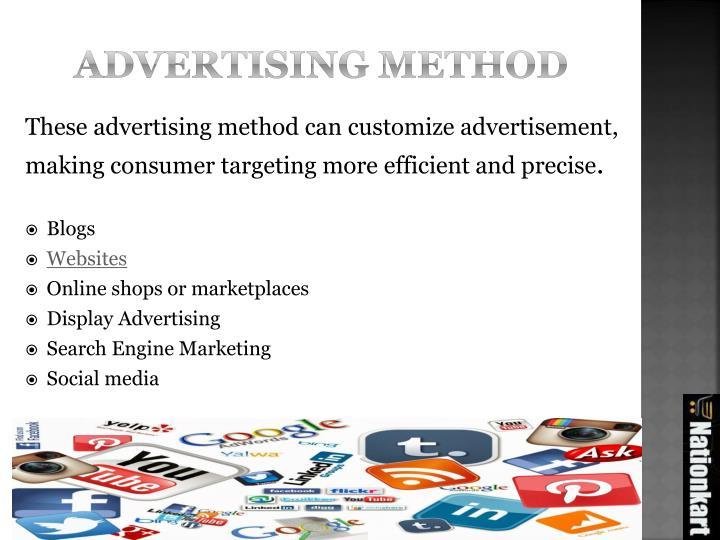 Advertising method