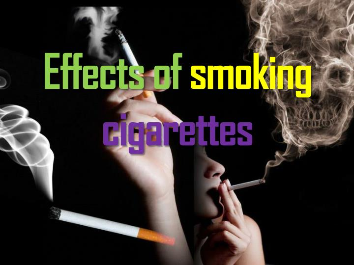effects of smoking cigarettes n.