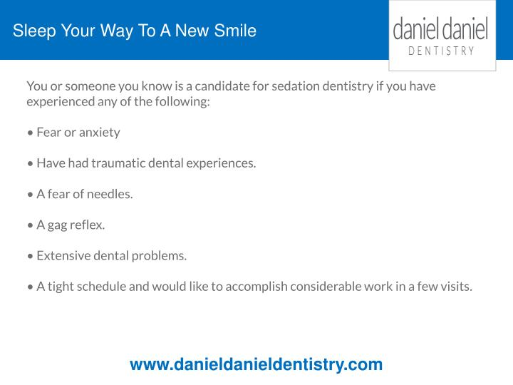 Sleep Your Way To A New Smile