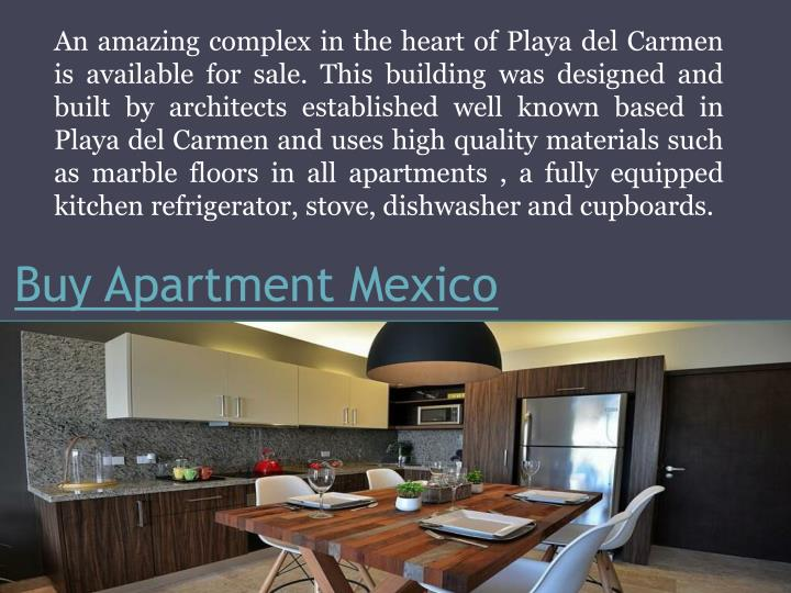 buy apartment mexico n.