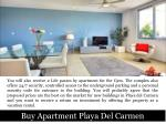 buy apartment playa del carmen