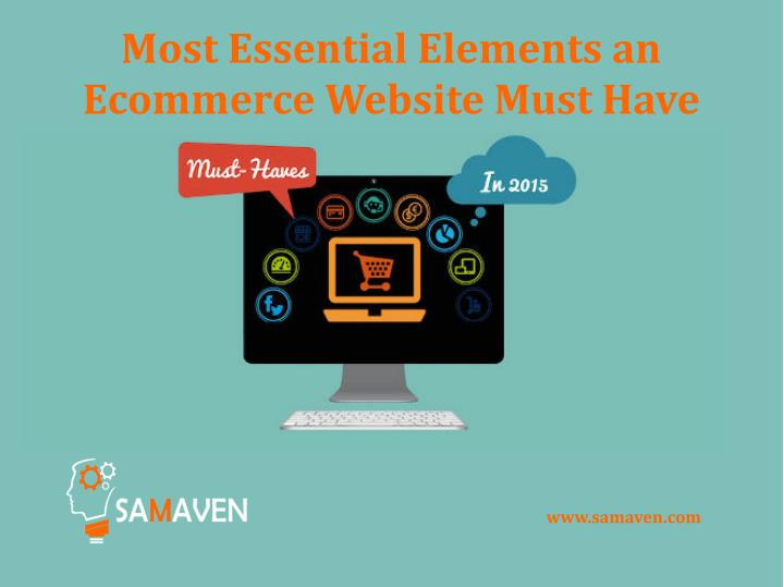 Most Essential Elements an