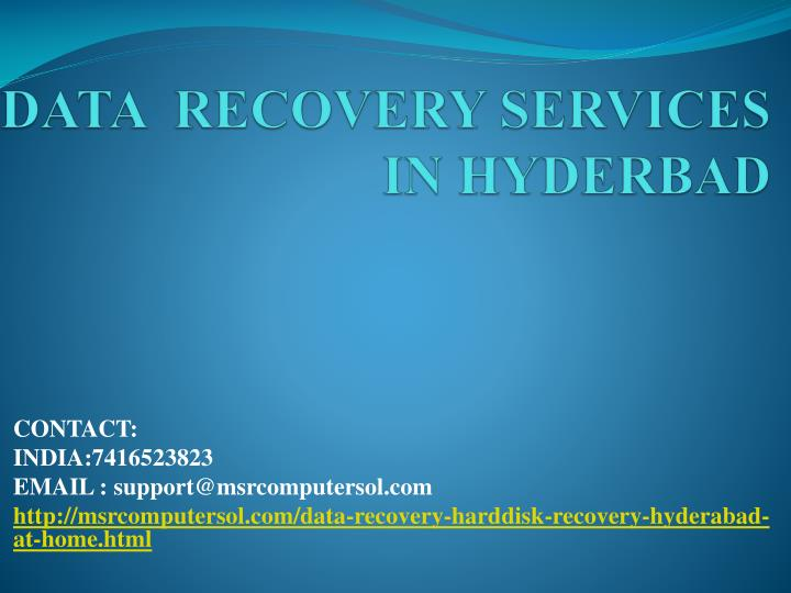data recovery services in hyderbad n.