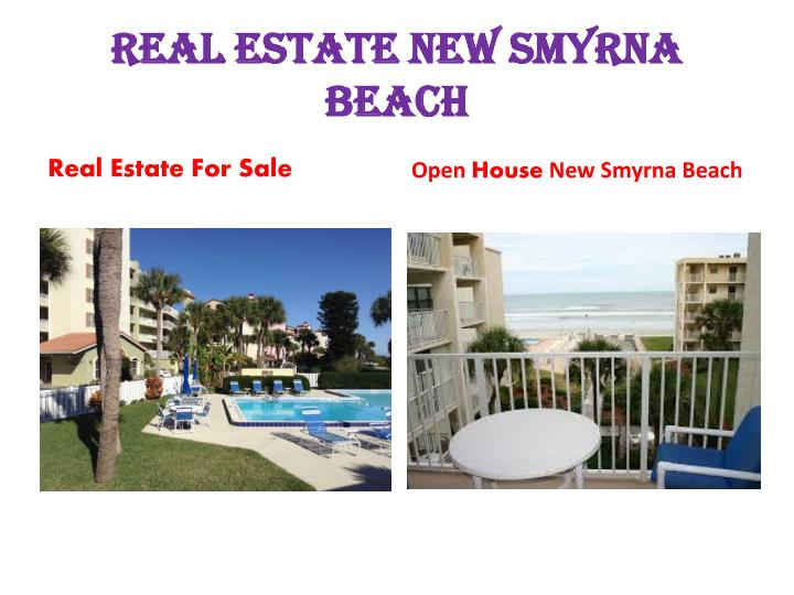 Real Estate New Smyrna Beach