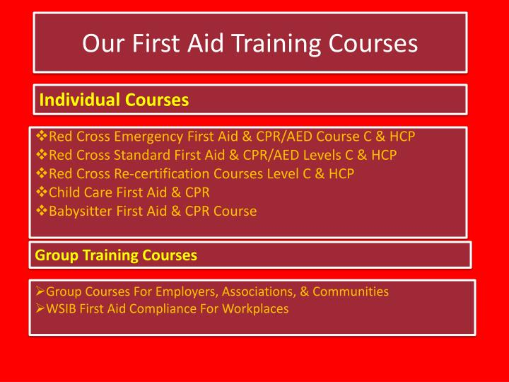 Ppt Extensive First Aid Cpr Training In Toronto Powerpoint