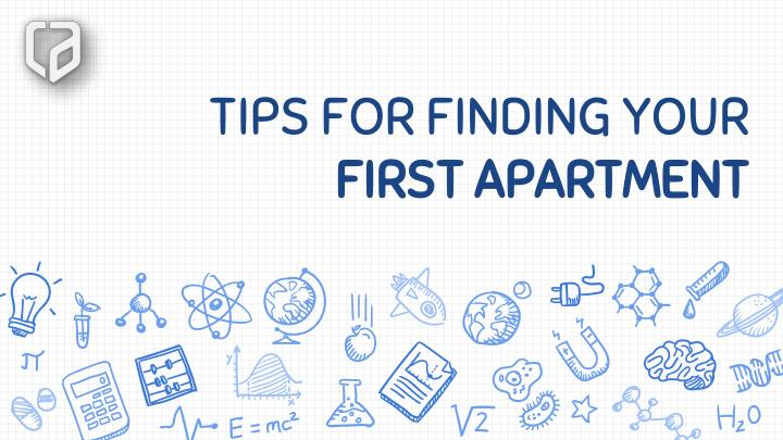 tips for finding your first apartment n.