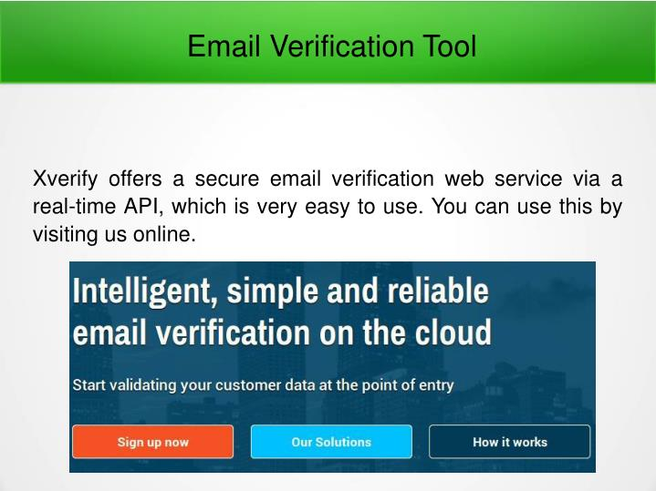 email verification tool n.
