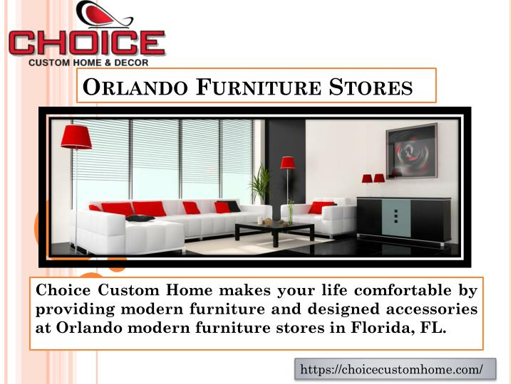 Ppt Modern Furniture Stores Powerpoint Presentation Id