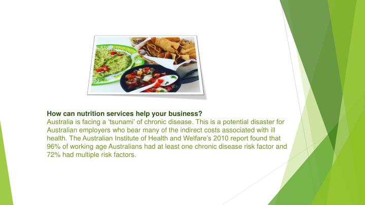 How can nutrition services help your business?