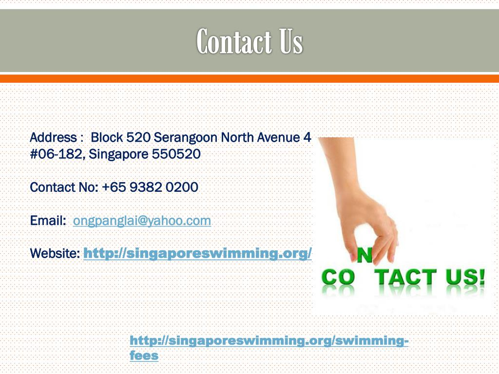 PPT - Adult Swimming Classes - Singapore Swimming Academy PowerPoint