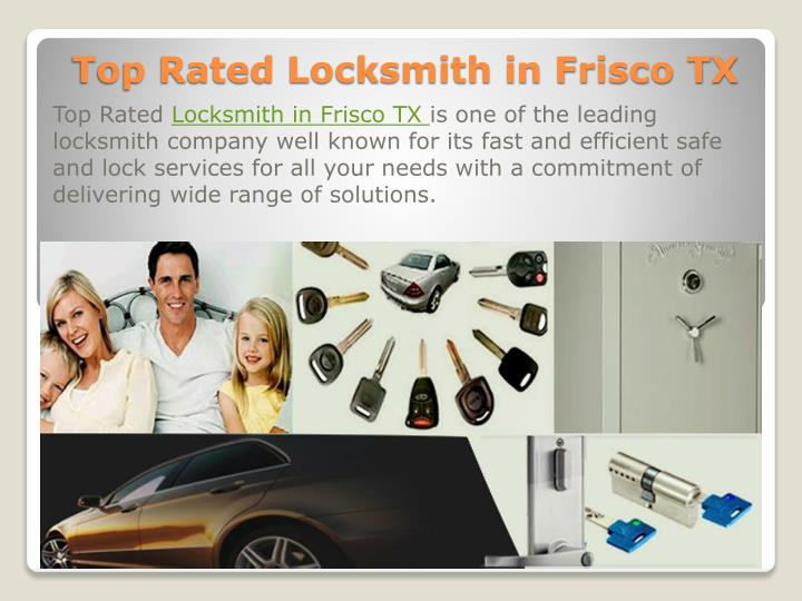 Top rated locksmith in frisco tx