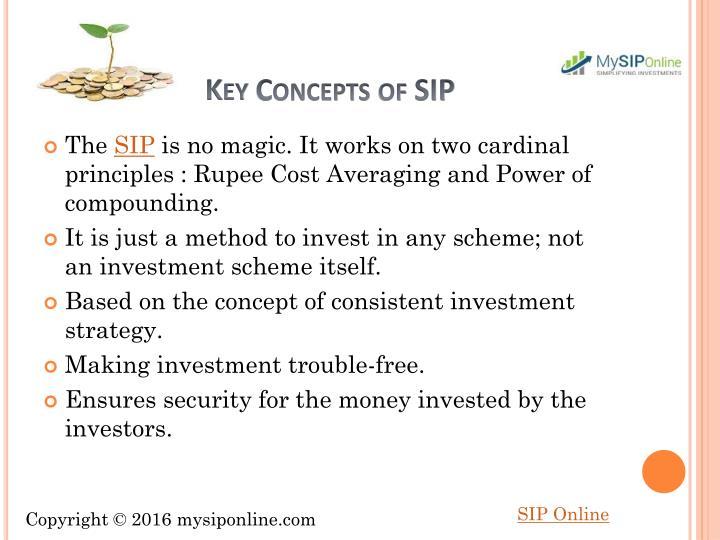 Key Concepts of SIP