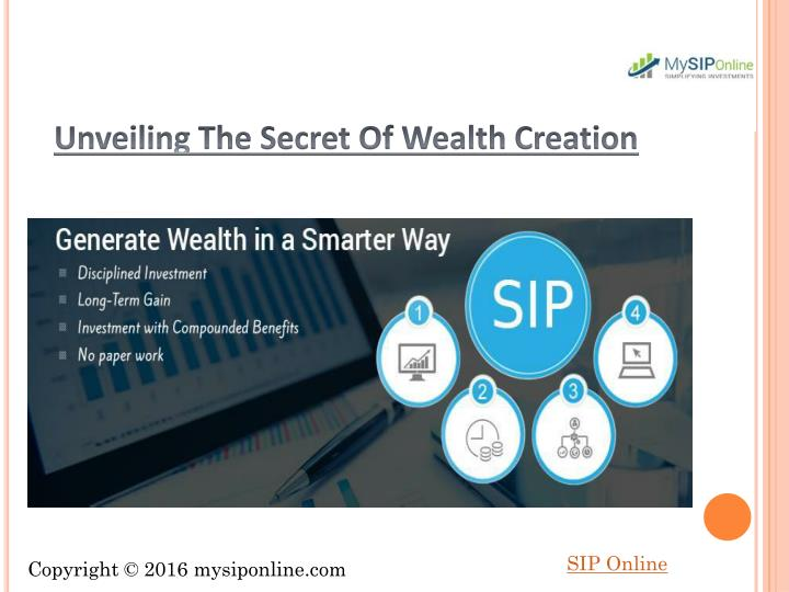 Unveiling The Secret Of Wealth Creation