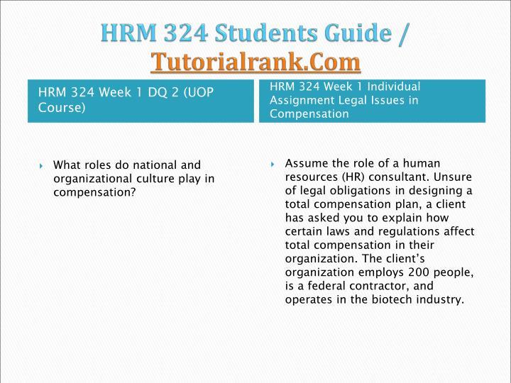 Hrm 324 students guide tutorialrank com2