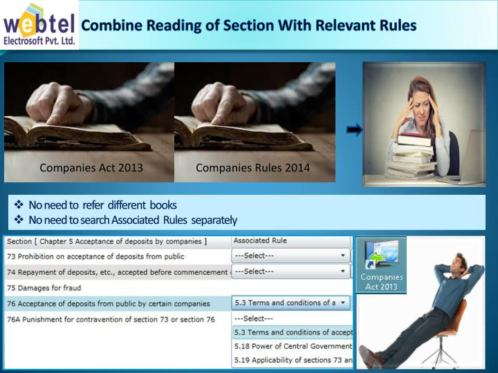 Combine Reading of Section With Relevant Rules
