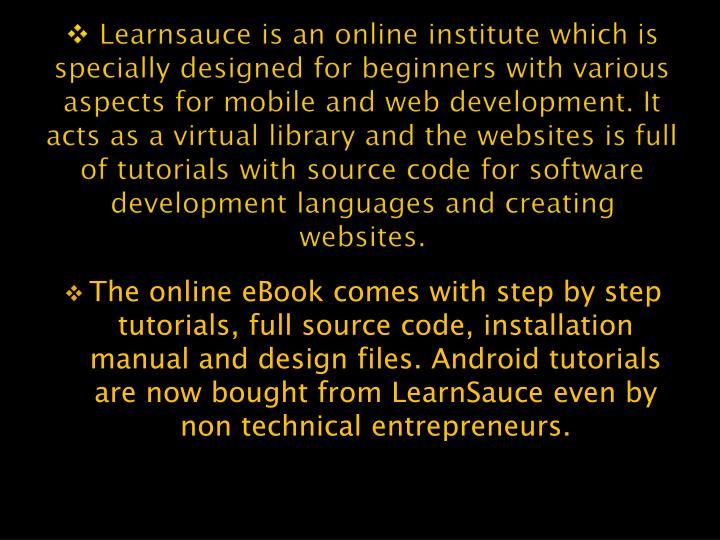 Learnsauce