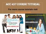 acc 497 course tutorial1