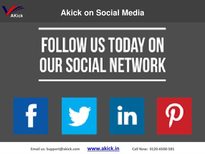 Akick Social Media
