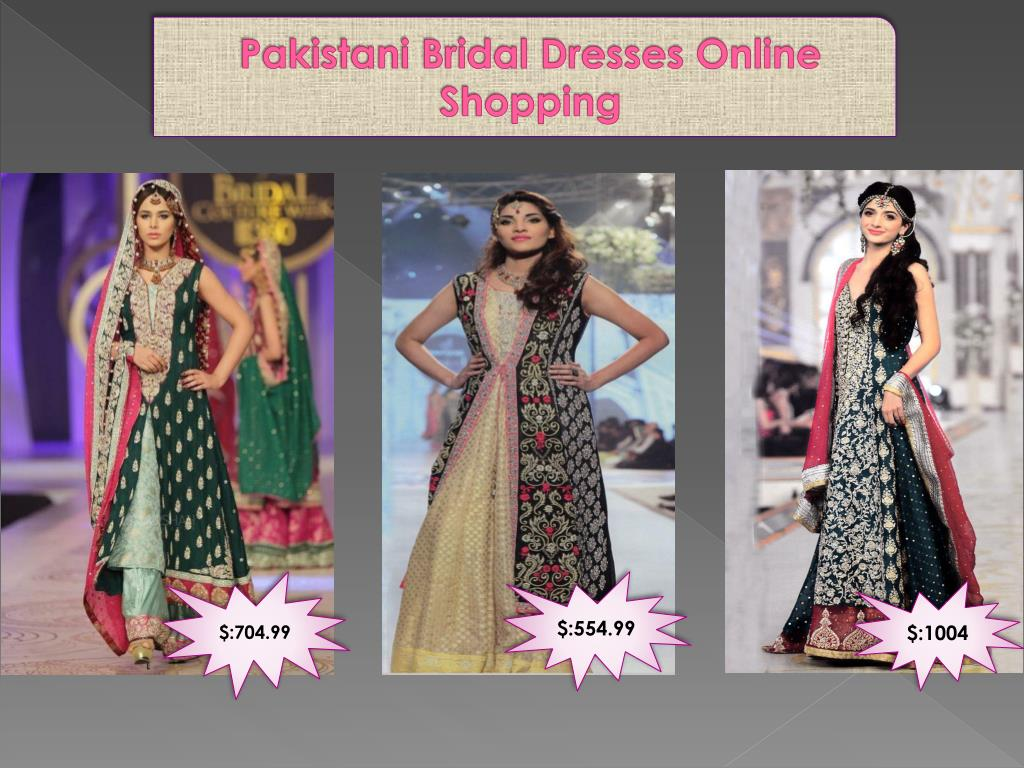 PPT - Pakistani bridal dresses online shopping PowerPoint