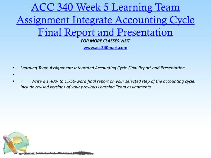 final powerpoint acc340