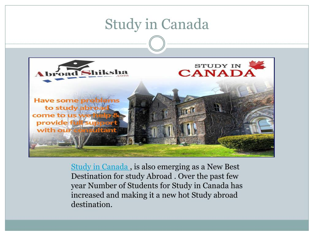 PPT - Study in UK, Study Abroad Program , Study Abroad