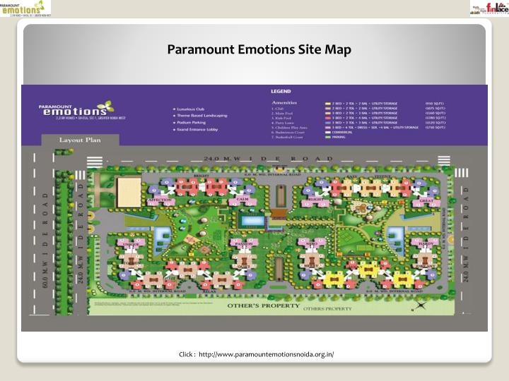 Paramount Emotions Site Map