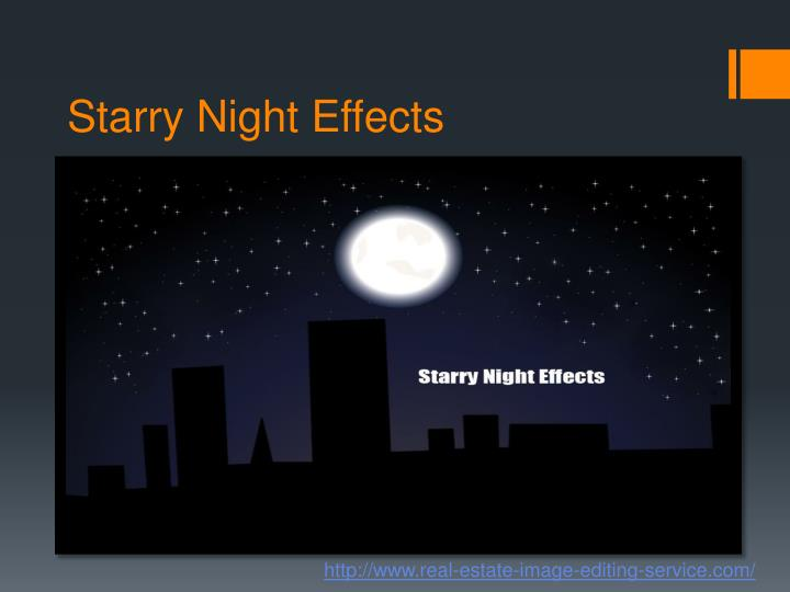 Starry Night Effects