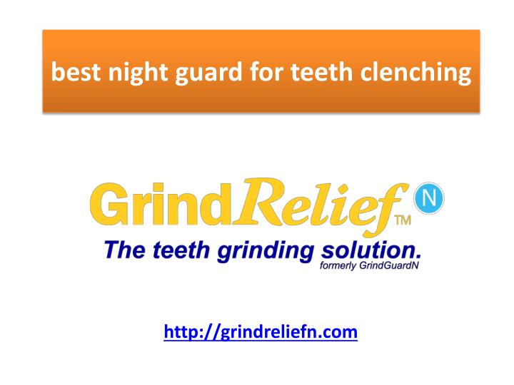 best night guard for teeth clenching n.