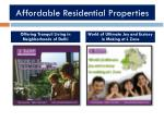 affordable residential properties