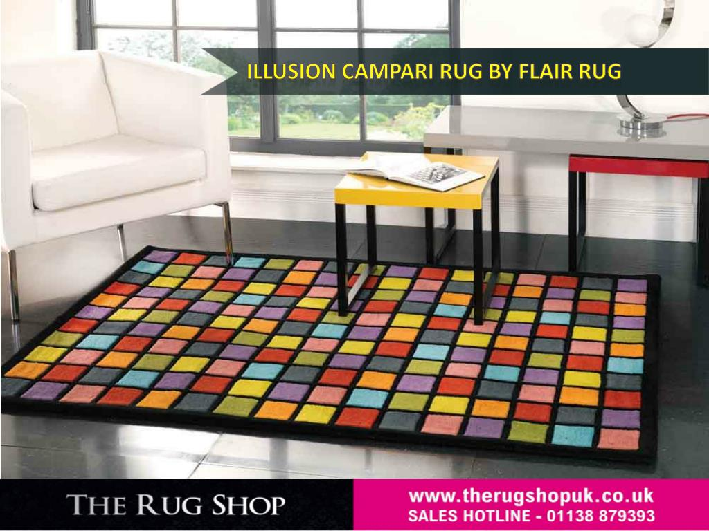 PPT - Illusion Rug Range By Flair Rugs