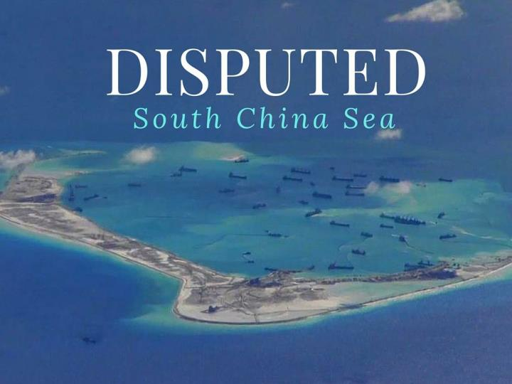 disputed south china sea n.