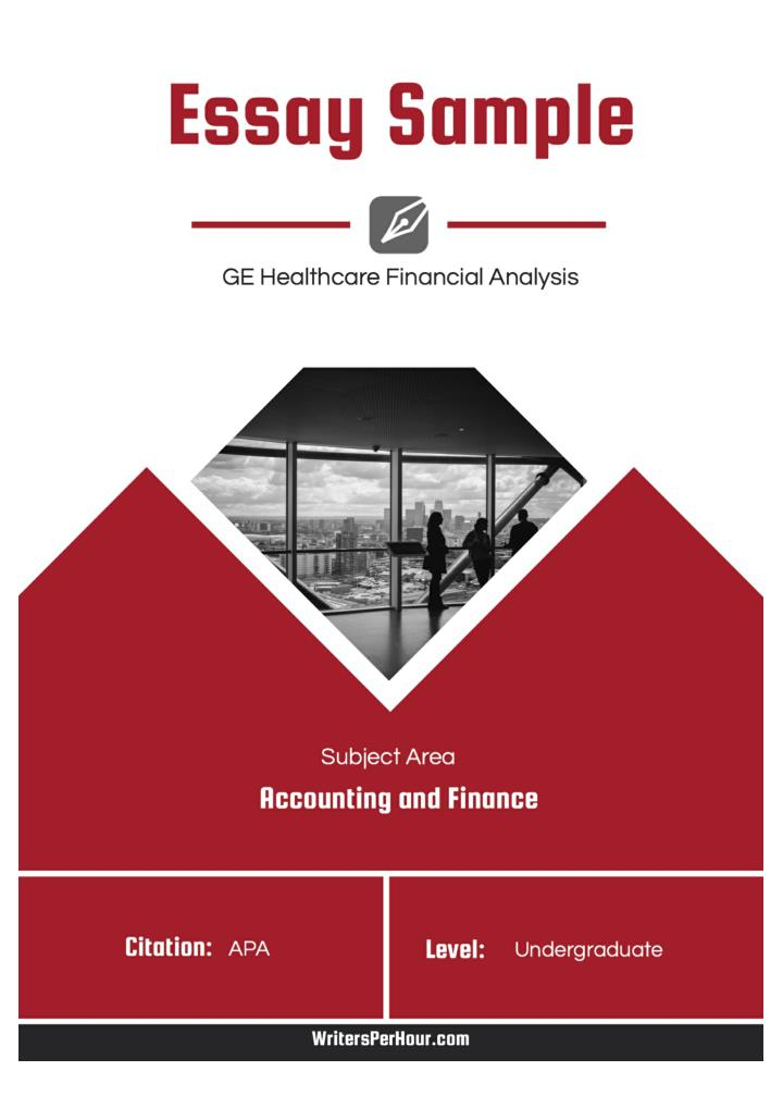 essays on finance Sample essay on financial statements and their analysis.