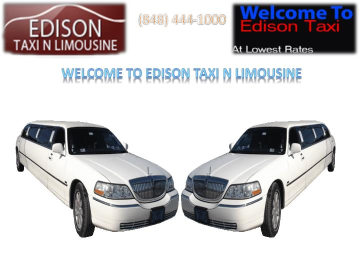 Car Service From Edison To Philadelphia Airport