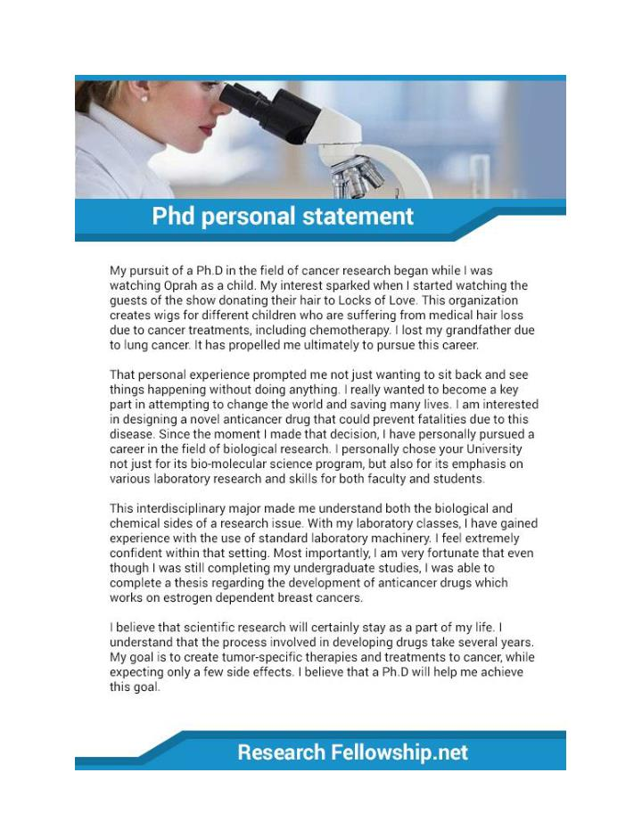 PPT PhD Statement Of Purpose Sample PowerPoint