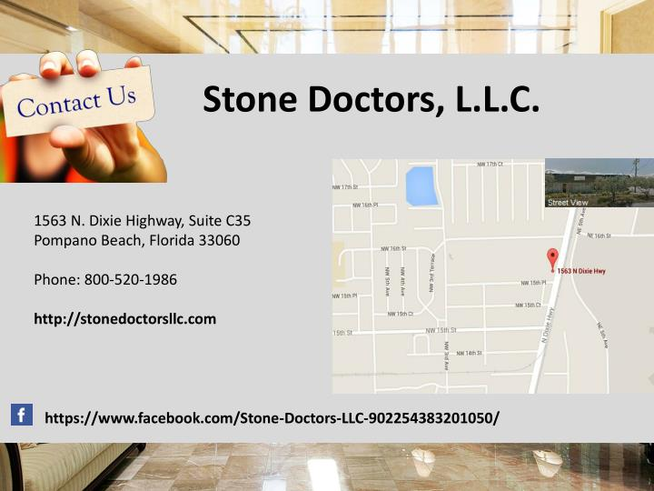 Stone Doctors, L.L.C.