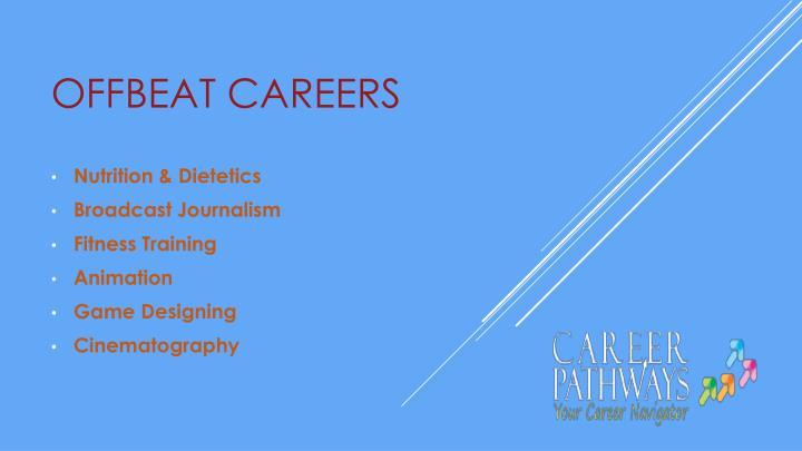 Offbeat Careers