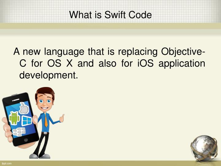 A new language that is replacing objective c for os x and also for ios application development