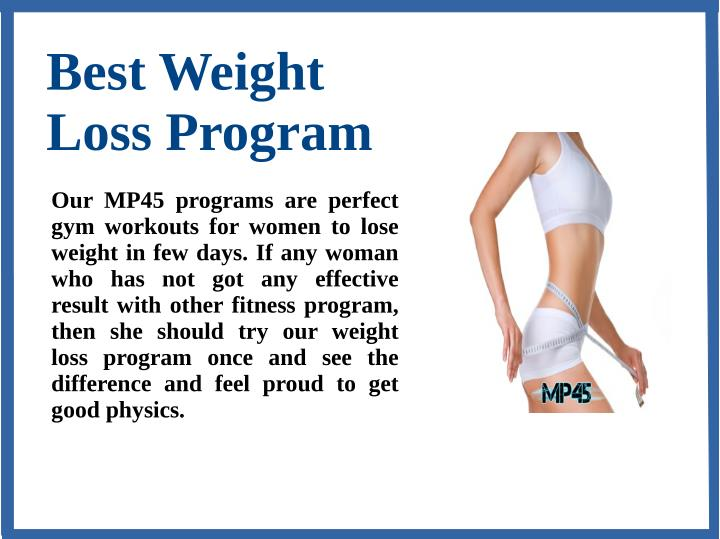 Program In Gym Slide2 Best Weight