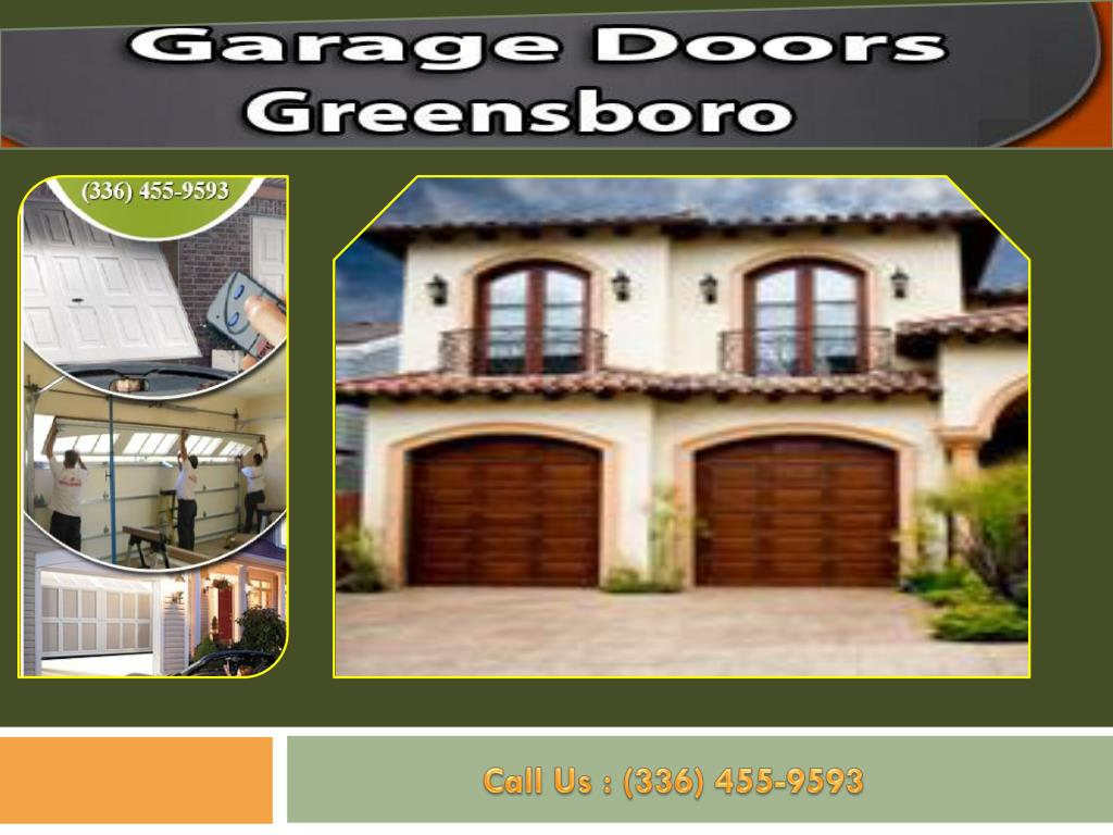 Ppt Experts Garage Doors Greensboro Nc Powerpoint