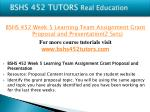 bshs 452 tutors real education19