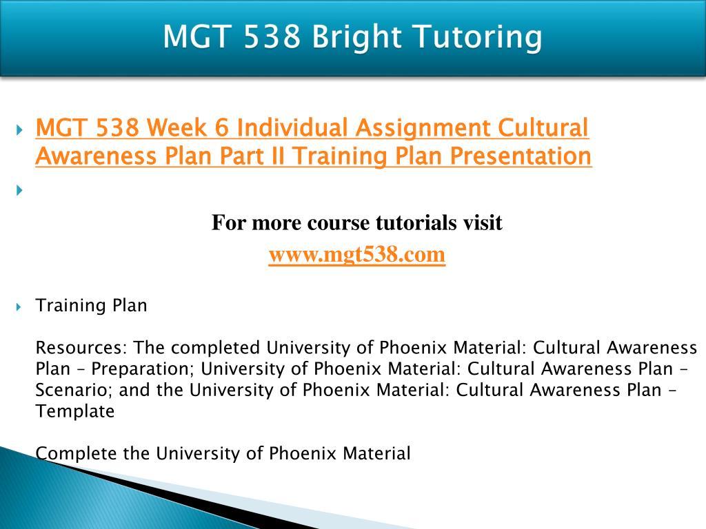 PPT - MGT 538 Bright Tutoring/mgt538 com PowerPoint